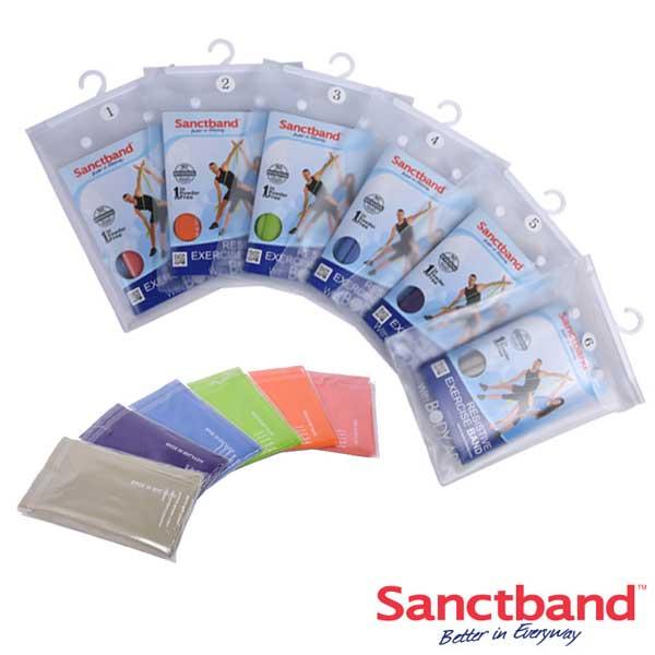Bst 샌트밴드2M 레벨1단계~6단계/운동밴드/필라테스/스트레칭/튜빙밴드