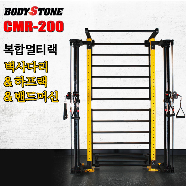 Bst 국내제작 CMR-200 클럽용복합멀티랙(기본:벽사다리만+스텝바포함)